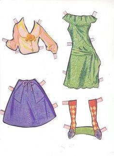 Paper Dolls: Soo sixtie!