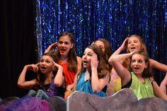 McGee Middle School production of Peter Pan, Jr. Peter Pan Jr, Middle School Drama, Mermaids, Wrestling, Club, Lucha Libre, Sirens, Mermaid, Ariel