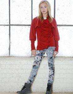 Persnickety Teen Clothing Penny Lane Veronika Velvet Skinny Jean in Gray Fall…