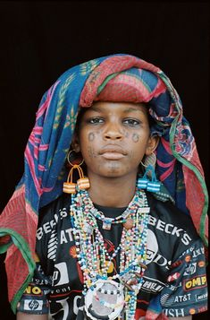 Africa   Woodabe from Chad   © Marie-Laure de Decker.