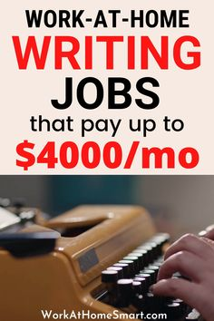 Looking for the best work from home content writing jobs? Check out this list of online writing jobs for beginners and pros. Legit Work From Home, Legitimate Work From Home, Work From Home Jobs, Make Money From Home, How To Make Money, Online Writing Jobs, Freelance Writing Jobs, Online Jobs, Work From Home Companies