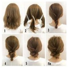 Fashionable Braid Hairstyle for Shoulder Length Hair #StylishBraidStyles #StylishBraid click now to see more...