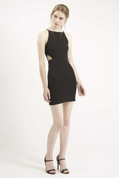 Cut-Out Mini Bodycon Dress