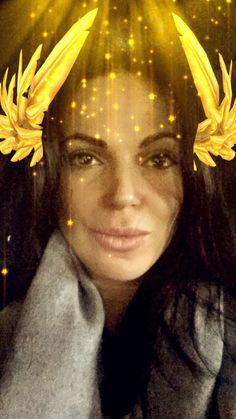 Awesome Lana being funny/having fun with #SnapChat filters #BrooklynNY Friday 4-29-16 #LanasSnapChat