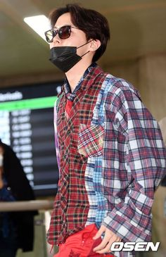 Hobi☀️ Airport ✈️ back to Korea Gwangju, Lee Min Ho, Hoseok Bts, Jimin, Bts Airport, Mnet Asian Music Awards, Bts J Hope, Bts Boys, Mixtape