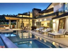 The most beautiful outdoor living space. Between the pool, architecture, design, and furniture this home is truly unique. Los Angeles, CA Coldwell Banker Residential Brokerage $10,400,000
