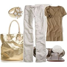 do same substituting grey/silver for tan/gold too