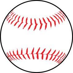 free printable baseball clip art images inch circle punch or rh pinterest com baseball clipart images free vector I Love Baseball Clip Art