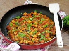 Paneer Chilly Chilli Paneer, Cottage Cheese, Tofu, Salsa, Curry, Vegan, Cooking, Ethnic Recipes, Indian