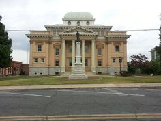 Randolph County Courthouse in North Carolina.