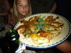 Roast Chicken . Teen Ager's Party.