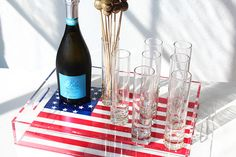 DIY Serving Tray | Darby Smart | Fourth of July