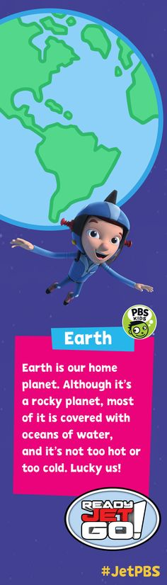 Blast off to explore the galaxy with Ready Jet Go! The new series premieres Monday, February 15 on PBS KIDS. Watch a sneak peek: http://to.pbs.org/JetKIDS