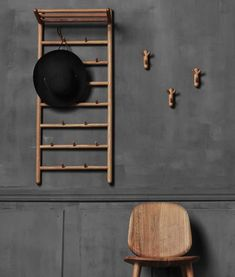 jonas lindvall's miss holly hall collection for stolab offers a handy cloakroom solution