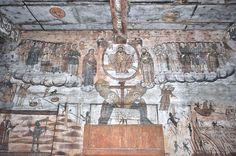 Biserica de lemn din Bogdan Vodă - Pictură