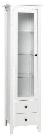 Витрина AULUM 1 врата бяла | JYSK