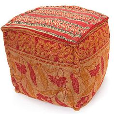 Akul Kantha Pouf now featured on Fab.
