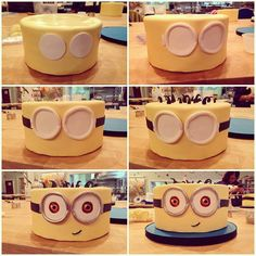 How to Make a Minion Cake in 6 Easy Steps #diy