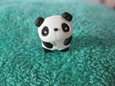 Panda Earrings by LittleThingsNStrings on Etsy
