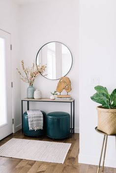 Ideas For House Entrance Ideas Entryway Front Entry Mirror Foyer Furniture, Entryway Decor, Entry Foyer, Cheap Furniture, Front Entry Decor, Entry Mirror, Entrance Decor, Coaster Furniture, Furniture Stores
