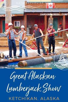 This Ketchikan Highlights and Totem Pole Park cruise excursion combines visits to the Great Alaskan Lumberjack Show and Potlach Totem Park in Alaska. Cruise Excursions, Cruise Destinations, Shore Excursions, Packing List For Cruise, Cruise Travel, Cruise Vacation, Vacations, Cruise Port, Best Alaskan Cruise
