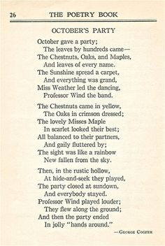 Autumn Quotes - enchanting-autumn: An Autumn poem from The Poetry Book - 1926 by sctatepdx on… Poetry Books, Poetry Quotes, Poetry Unit, Quotes Quotes, Pomes, Life Quotes Love, Happy Fall, Beautiful Words, Autumn Leaves