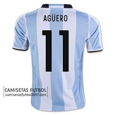 ef53114cc651a Primera camiseta Agüero de Argentina Copa América 2016 21