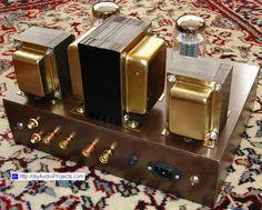 DIY Single-Ended KT88 Tube Amplifier