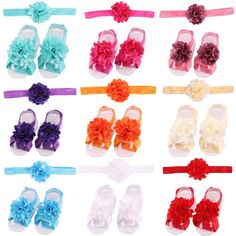 Bodermincer 12Pack/12color Lace Baby Headband Chic Flower Girls Headband Hair Bow Flower Headband for Baby Girl Children Hair Accessories (17Pack) * Check out the image by visiting the link.