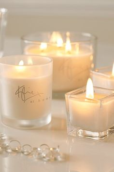Would be neat to find premade labels to place on candles with groom and bride's name or words like love, faith, etc.