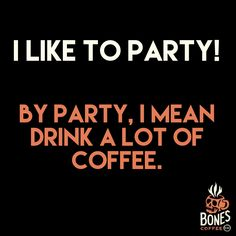 My name is Dave and I like to party! #coffee #strawberrycheesecake bonescoffee.com