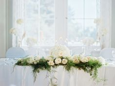 Head Table Decor edmonton wedding planner: A Modern Proposal