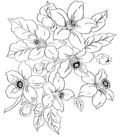 Digital Two for Tuesday: More Flower Designs