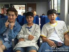 Sehun's weibo update - D.O Suho and Chanyeol EXO Suho Exo, Kaisoo, Exo Ot12, Park Chanyeol, Exo Dear Happiness, Kim Minseok, Exo Korean, Korean Drama, Exo Memes