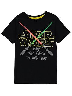 Star Wars Lightsaber T-Shirt, read reviews and buy online at George at ASDA. Shop from our latest range in Kids. Whether your little one is a Sith or a Jedi,...