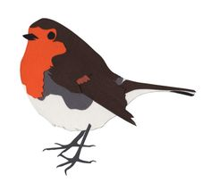 Nothing says Christmas like a little robin. creates paper cut art and cards and you can find her at our market on Saturday December Paper Animals, Etsy Uk, Paper Cutting, Robin, Rooster, Christmas Cards, Bird, December, Handmade