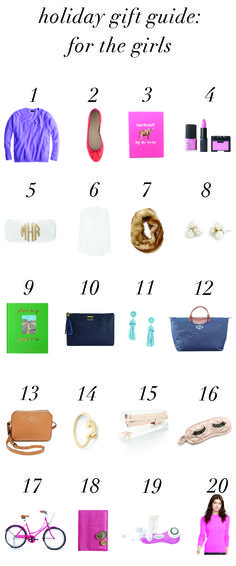 Holiday Gift Guide: For The Girls