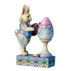 Enesco Jim Shore Heartwood Creek Bunny Painting Easter Egg Figurine -- To view further for this item, visit the image link. Hoppy Easter, Easter Eggs, Bunny Painting, Seasonal Celebration, Holiday Centerpieces, Vintage Easter, Collectible Figurines, Decor Crafts, Craft Decorations