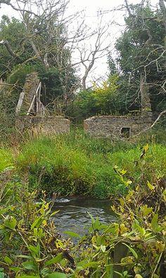 Small ruin by Gladstone Road park