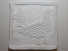 Ravelry: Dishcloth Dove (2) / Spüli Taube (2) stehend pattern by Mamafri
