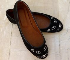 CAT FACE SHOES by BlueDrop <3