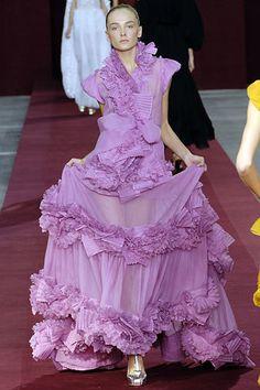 Saint Laurent Spring 2006 Ready-to-Wear Fashion Show - Snejana Onopka