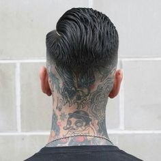 thered Brush Back and Skin Fade