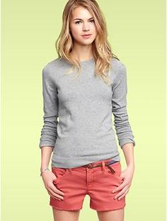 Crewneck pullover sweater | Gap