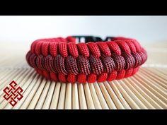 How to Make the Ridged Fishtail Paracord Bracelet Tutorial - YouTube