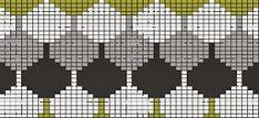harmaata arkea: Ehkä joskus Manta Crochet, Knitting Charts, Knit Patterns, Pixel Art, Grid, Dots, Patterns, Projects, Knitting Patterns