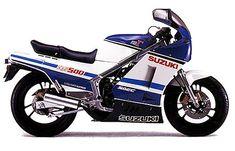 suzuki rg125 gamma 1986