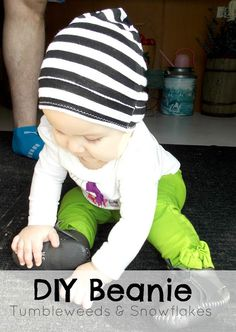 Simple DIY Beanie. Could make for babies or adults!