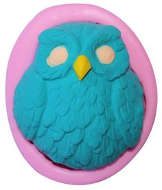 Beauty Clubs Owl Silicone Soap Fondant Mould Chocolate Sugarcraft Cake Mold Baking Tool DIY * Details can be found by clicking on the image.