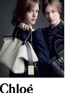 Chloe Fall 2013 - Handbag/Fashion Advert (Couldn't disagree more with this article, love the ad!)